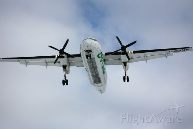 de Havilland Dash 8-100 (C-GANS)