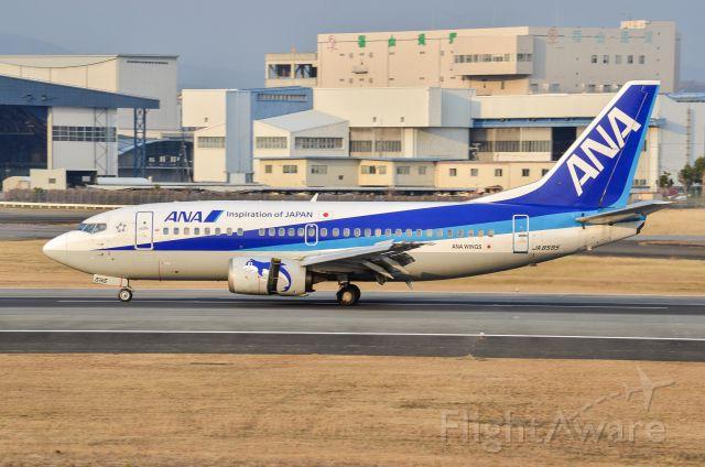 Boeing 737-500 (JA8595)