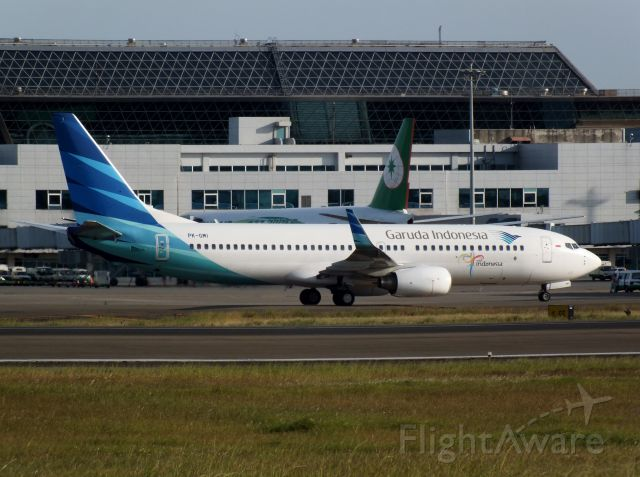 Boeing 737-800 (PK-GMI) - Garuda Indonesia