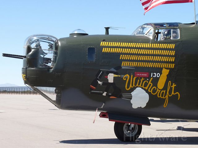 Consolidated B-24 Liberator (N224J) - Apr. 19, 2009 - The Collings Foundations B-24 Witchcraft visiting Avra Valley, AZ