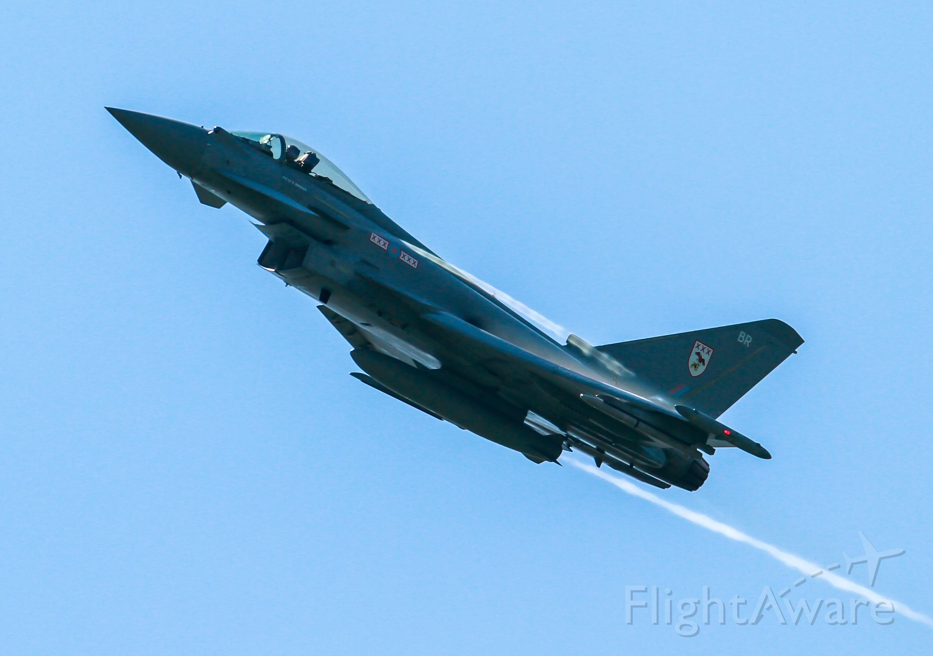 — — - Typhoon from Cosford Air Show UK 2013