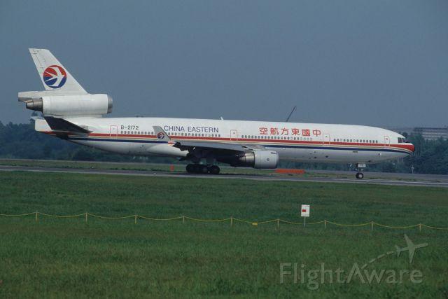 Boeing MD-11 (B-2172) - Departure at Narita Intl Airport Rwy16R on 1995/07/31