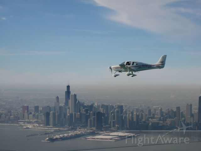 Cirrus SR-22 (N565S) - Cirrus SR22, Chicago 12/07
