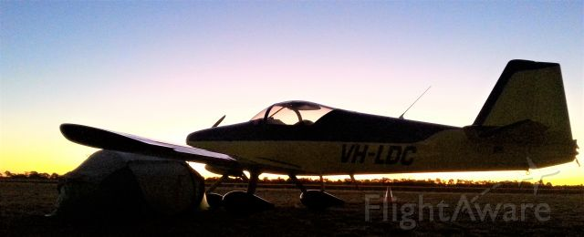 AII AVA-202 (VH-LDC) - Outback NSW Australia