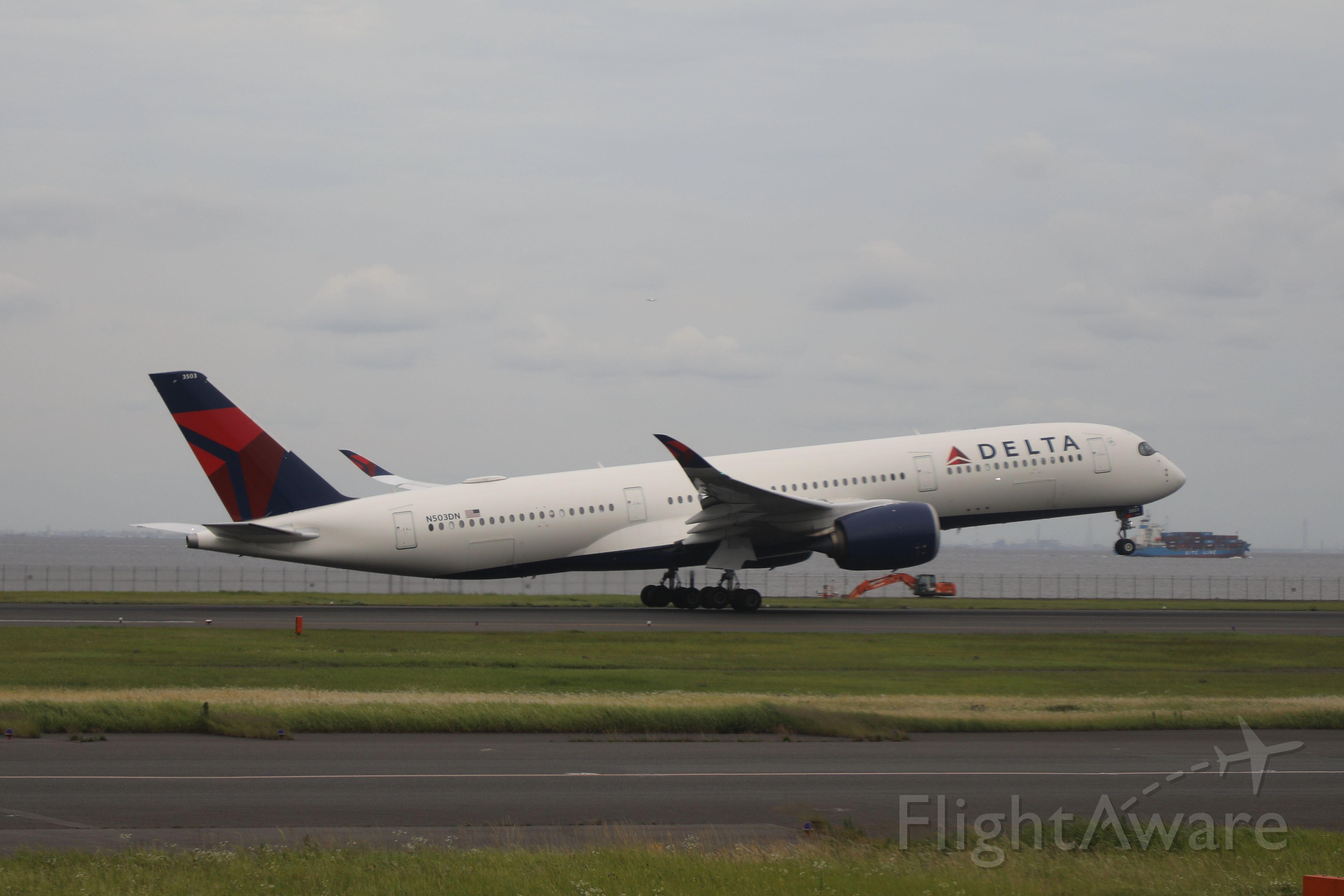 Airbus A350-900 (N503DN) - June 14th 2019:HND-LAX.