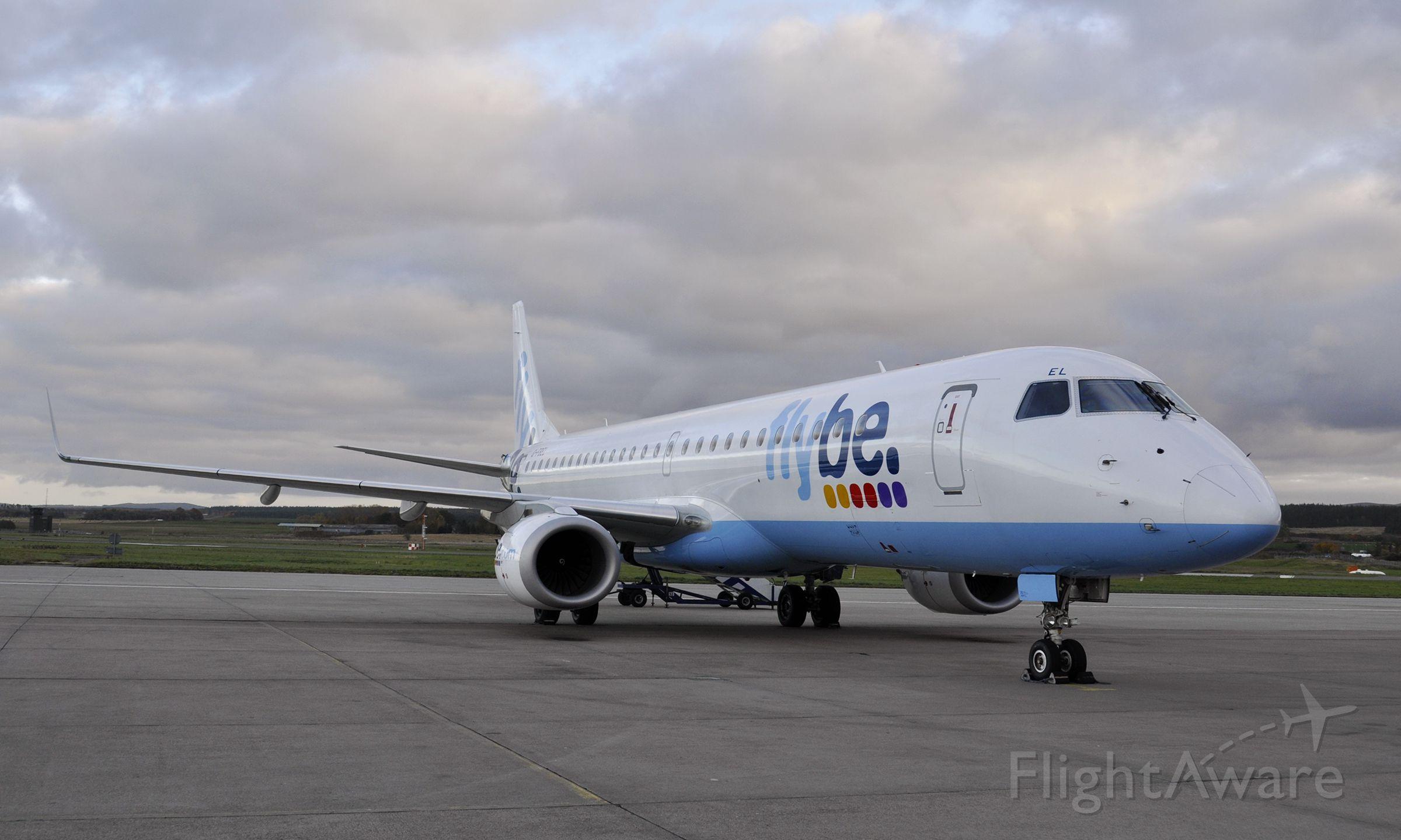 Embraer ERJ-190 (G-FBEL) - Flybe Embraer ERJ-195LR G-FBEL in Inverness