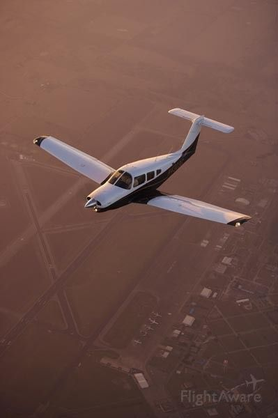 Piper Arrow 4 (N4303G) - 1983 Piper Turbo Arrow IV over Grayson County (TX) airport KGYI