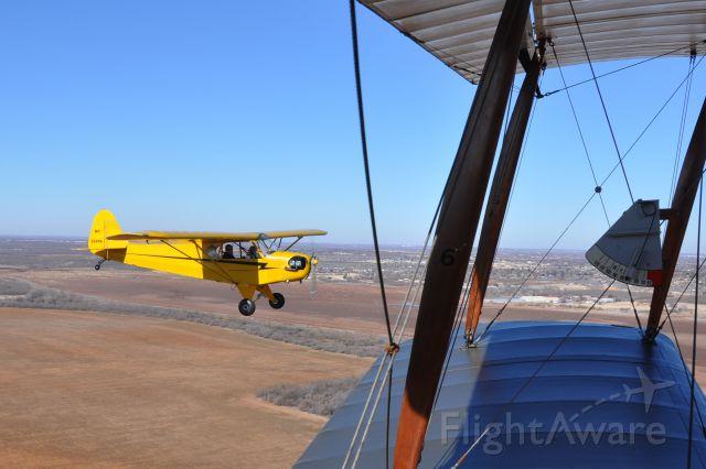 Piper NE Cub (N35256) - J3  Cub taken from Curtiss Jenny