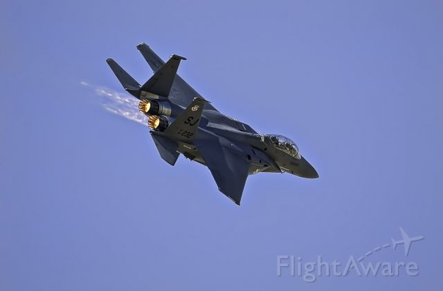 McDonnell Douglas F-15 Eagle — - Chino Planes of Fame Airshow 05/2011