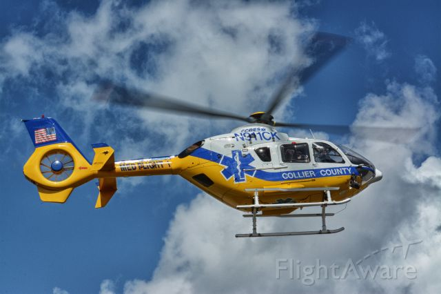 Eurocopter EC-635 (N911CK) - Collier County EMS EC-365 N911CK in KAPF. 02-02-2019