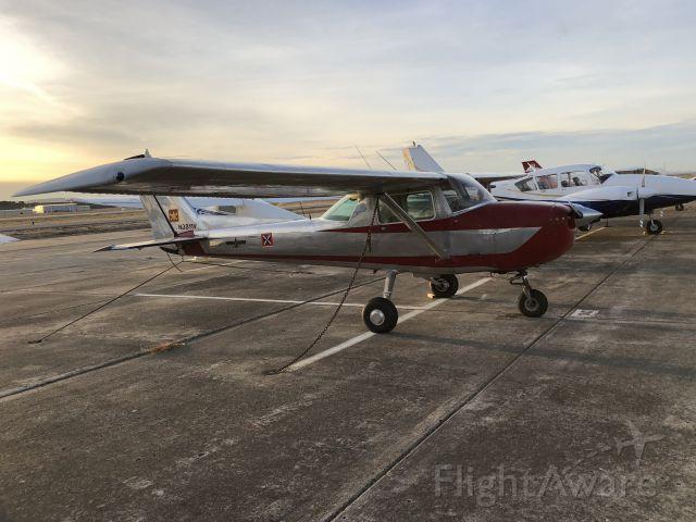 Cessna Commuter (N3811V) - On the ramp at Hollister, CA (KCVH) Nov 19, 2017