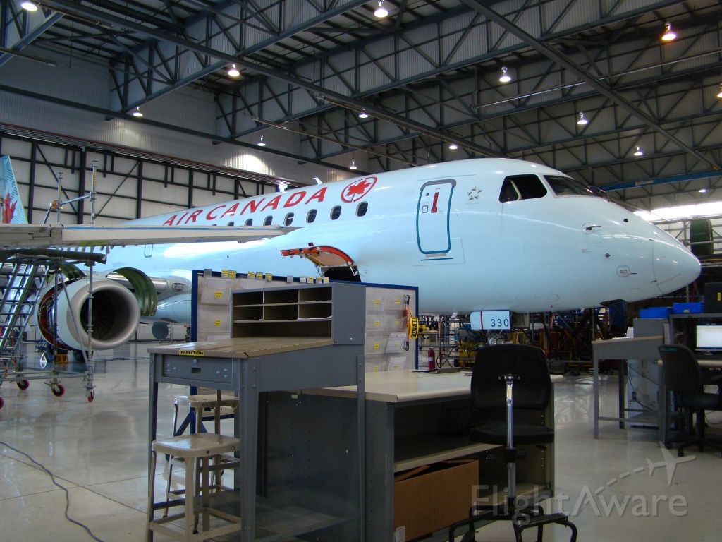 C-FHON — - Air Canada Embraer-170 getting maintenance done at Embraer in Nashville Tn. Hangar 2