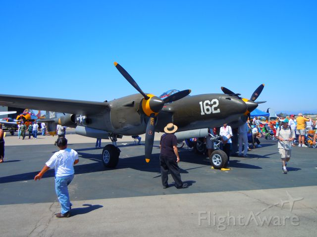 Lockheed P-38 Lightning — - P-38 at Camarillo airport airshow 8/21/10