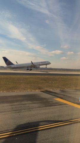 Boeing 757-200 — - Taken from a Delta CRJ after landing at JFK