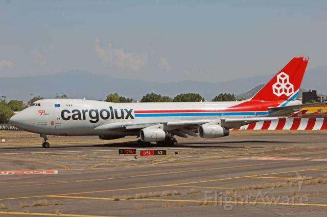 Boeing 747-400 (LX-UCV) - Cargolux / Boeing 747-4R7F / MSN 33827 / LX-UCV / MMMX 06/2020