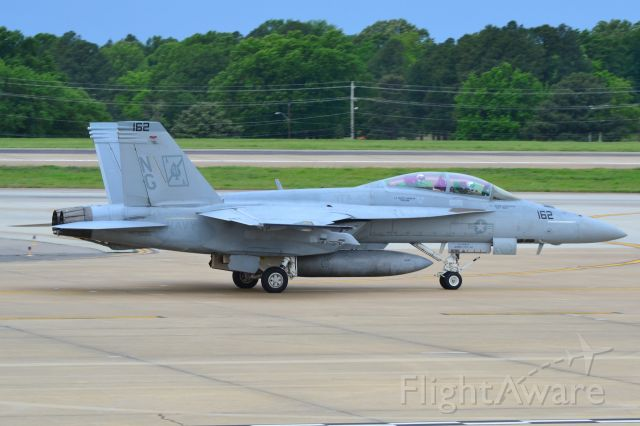 """McDonnell Douglas FA-18 Hornet (16-6851) - U.S. NAVY STRIKE FIGHTER SQUADRON VFA-41 BLACK ACES F/A-18F Super Hornet taxiing. Motto: """"First to Fight, First to Strike."""" - 5/3/17"""
