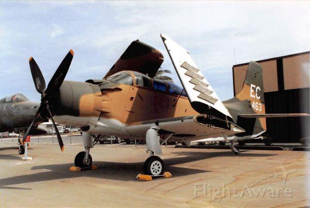 Douglas AD Skyraider — - Douglas A-1