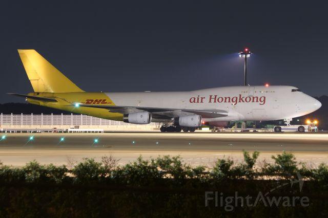 Boeing 747-400 (B-HUR)