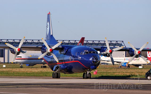 Antonov An-12 (UR-CNT) - ukraine air alliance an-12bk ur-cnt at shannon 1/2/19.
