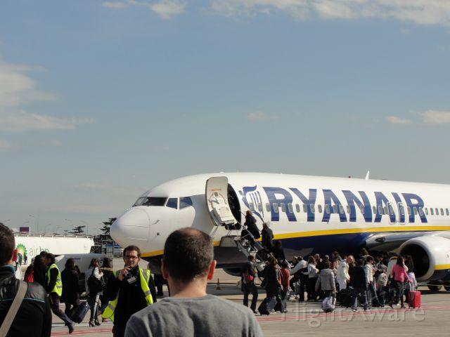 Boeing 737-800 (EI-DLD) - The plane I took from Valencia to Rome-Ciampino