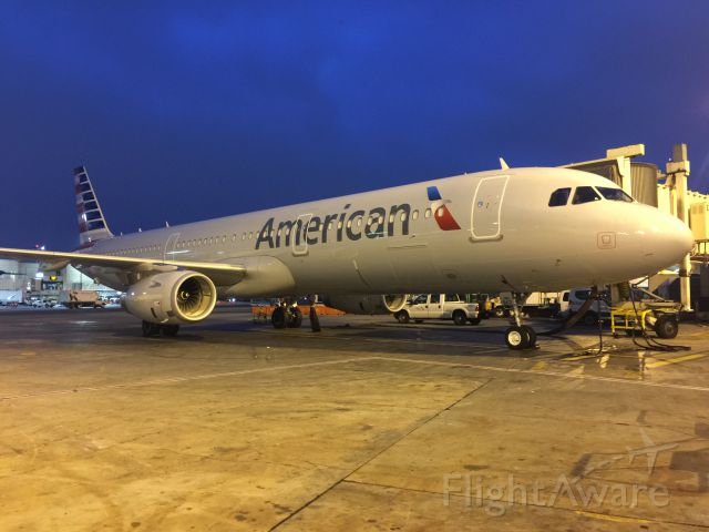 Airbus A321 — - Walk around before the flight to LAX
