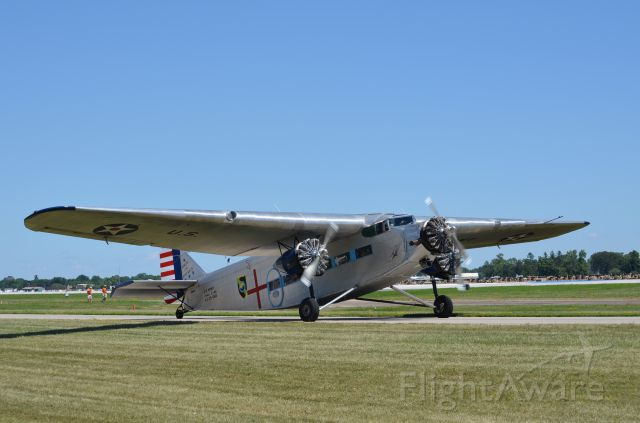 — — - EAA 2011 Ford Trimotor, apologies - I did not catch the tail number.