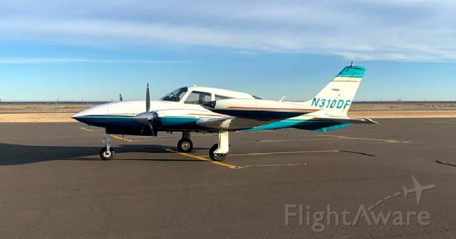 Cessna 310 (N310DF) - 02/02/2020
