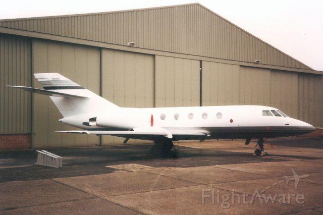 Dassault Falcon 20 (N2FU) - Seen here in Mar-91.<br /><br />Reregistered N12FU in Jan-93,<br />then N620A 13-Nov-96,<br />then N97TD 27-Dec-13.