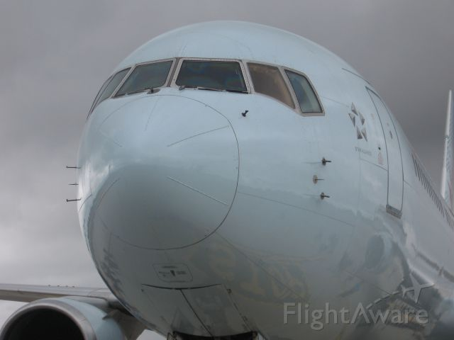 BOEING 767-300 (C-FOCA) - Beautiful 767 at the Pearson Street Festival.