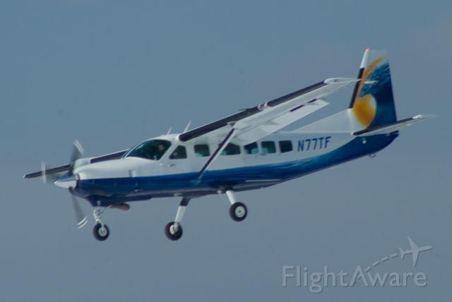 Cessna Caravan (N77TF) - Cessna Caravan back from a quick ops check