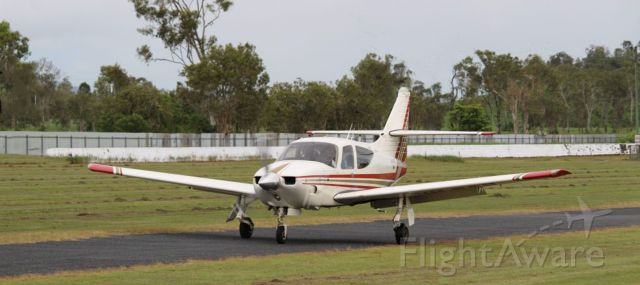 Rockwell Commander 114 (VH-PCU) - Rockwell Commander 114 at Redcliffe, Qld, Australia
