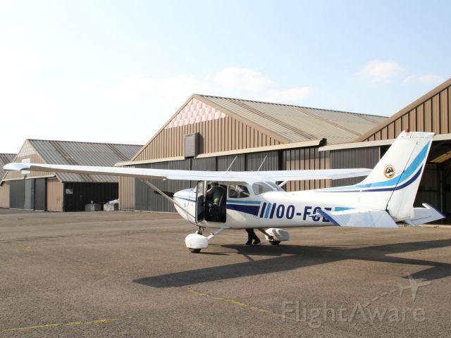 Cessna Skyhawk (OO-FCE) - My first flight.br /My first flight