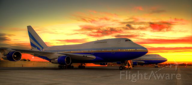 BOEING 747SP (VP-BLK) - Two Private 747SP's