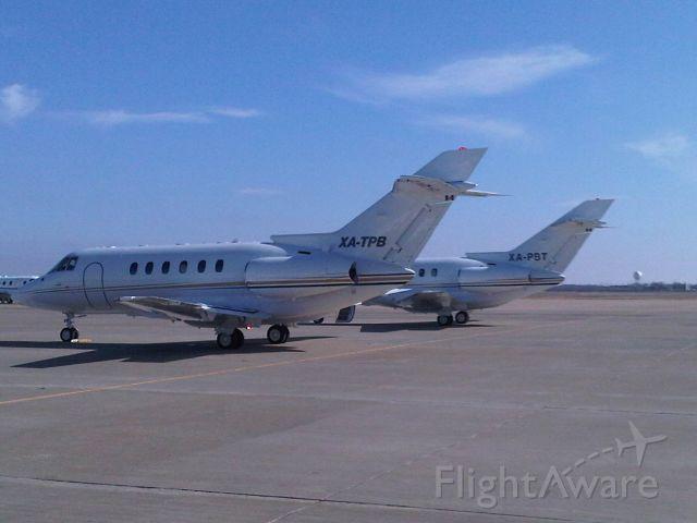 Raytheon Hawker 800 (XA-TPB) - Through Customs along with XA-PBT