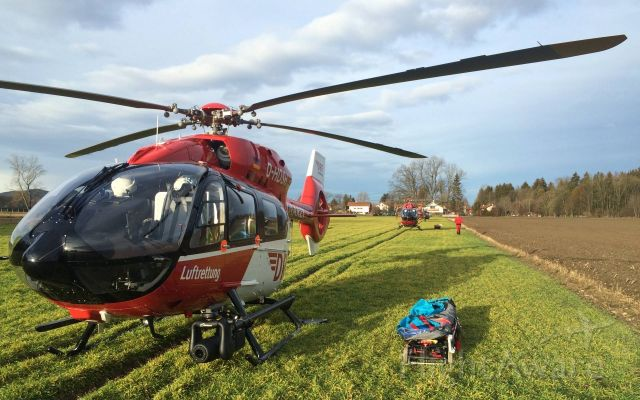 Eurocopter EC-635 (D-HDSH) - EC-H145 rescue helicopter , Train Crash - Bad Aibling <br />in use 10 rescue helicopter , ADAC , DRF , DL