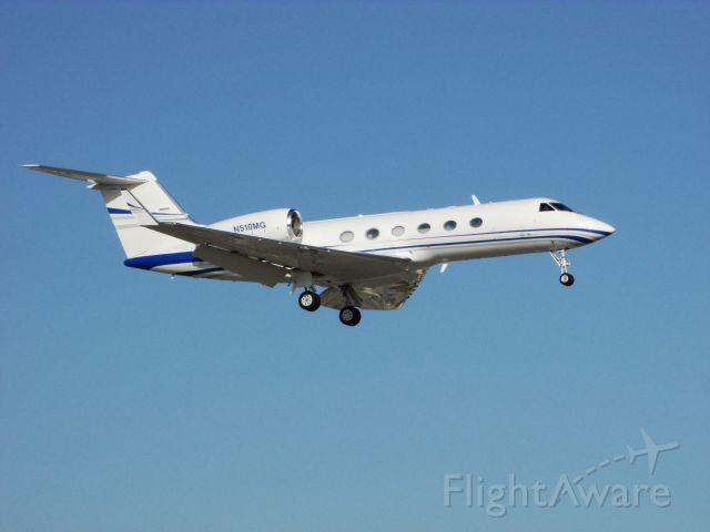Gulfstream Aerospace Gulfstream IV (N510MG) - Landing RWY 20R