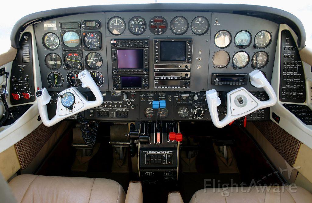 ZS-KHA — - B60    P-485