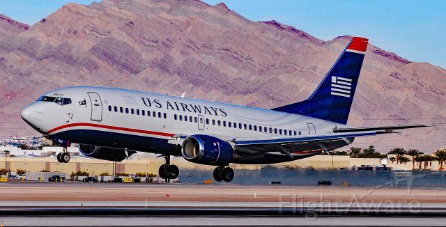 BOEING 737-300 (N302AW) - N302AW US Airways 1988 Boeing 737-3G7 - cn 24009 / 1578 - Las Vegas - McCarran International (LAS / KLAS)br /USA - Nevada, December 24, 2010br /Photo: Tomas Del Coro