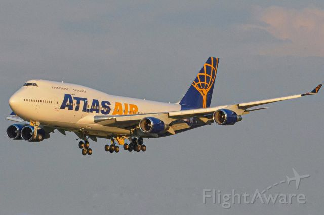 N322SG — - A rare appearance of a Atlas 747 at BWI