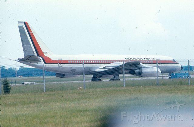 N5824 — - Convair 990 Coronado.  Pic taken circa 1965-70 at KIAD