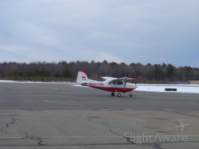 LUSCOMBE Spartan 185 (N507BW) - BRIDGEWATER STATE COLLEGE TRAINING AIRCRAFT