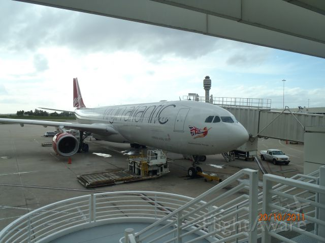 Airbus A330-300 (G-VKSS) - Waiting to go home at Orlando