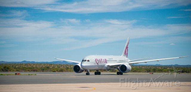 Boeing Dreamliner (Srs.8) — - Dreamliner in Namibia