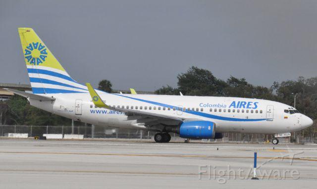 Boeing 737-700 (FSC4635) - Imaged on 1/12/12