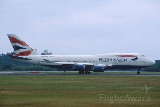 Boeing 747-400 (G-BNLF) - Departure at Narita Intl Airport Rwy16R on 2001/07/29