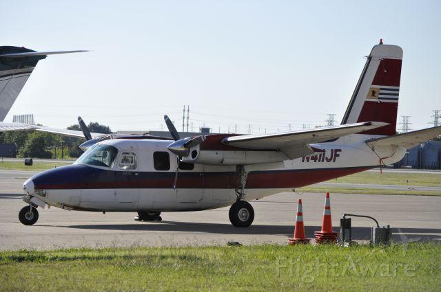Aero Commander 500 (N411JF)