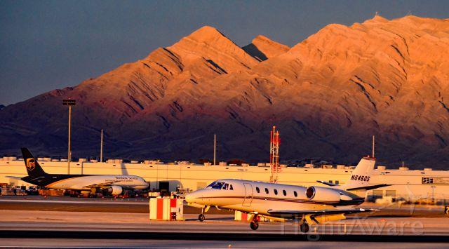 Cessna Citation Excel/XLS (N646QS) - N646QS   2002 Cessna 560XL C/N 560-5246 - Las Vegas - McCarran International (LAS / KLAS)<br />USA - Nevada, December 5, 2015<br />Photo: Tomás Del Coro