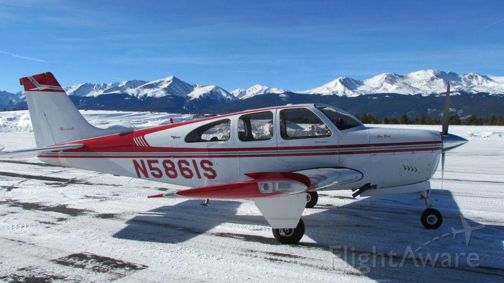 Beechcraft Bonanza (33) (N5861S) - Leadville, Colorado