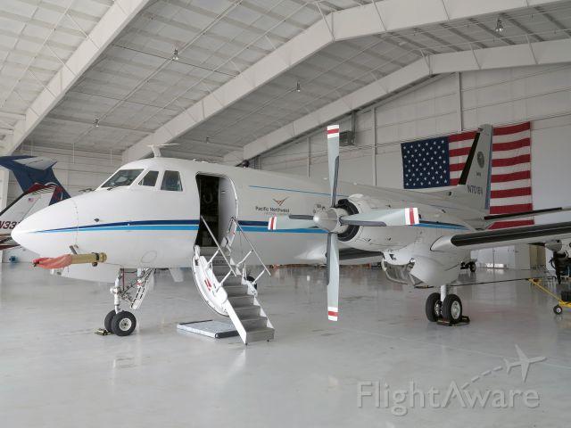 Grumman Gulfstream 1 (N701BN) - A beautiful aircraft. Serial number 074.