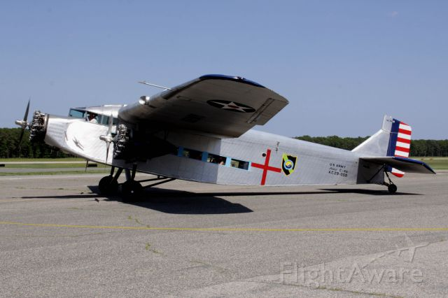 N8419 — - Ford Tri-motor owned by the Kalamazoo Air Zoo